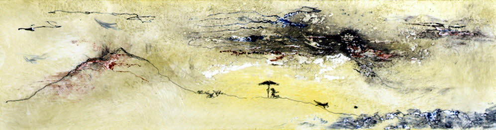 YuccaL 0285, oil on paper, -- x -- (cm)